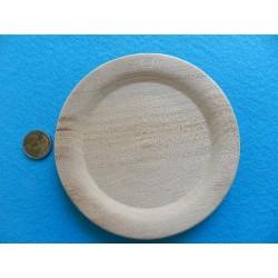 Drevený tanierik - 15 cm