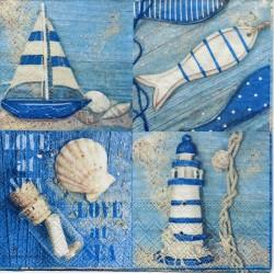 Morské v modrom
