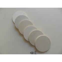 Podložka pod poháre kruh - 10 x 0,5 cm