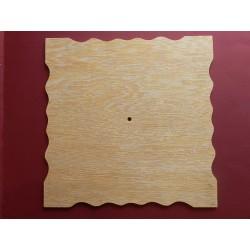 Podklad na hodiny s vlnitým okrajom - 30x30 cm
