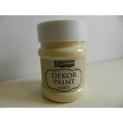 Dekor paint soft - 230 ml žltá