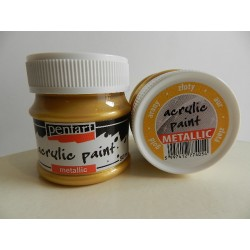 Acryl Metal - 50 ml - 054 zlatá