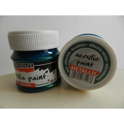 Acryl Metal - 50 ml - 078 zelenomodrá
