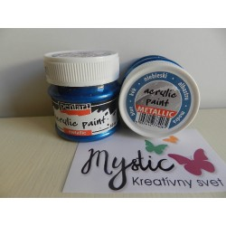 Acryl Metal - 50 ml - 061 modrá
