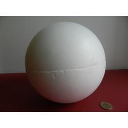 Polystyrenová guľa 20 cm otvaracia