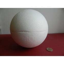 Polystyrenová guľa 18 cm otvaracia