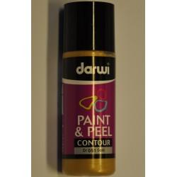 Paint & Peel kontúra  - 80 ml 051 zlatá