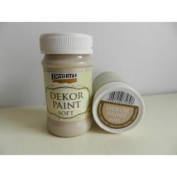 Dekor paint soft - 100 ml cappuccino