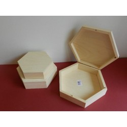 Krabička šesťhran - 21 cm