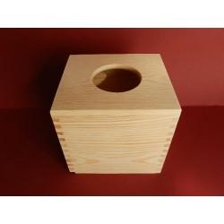 Krabička na kapesníky štvorec