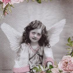 Anjel s kvetinkou
