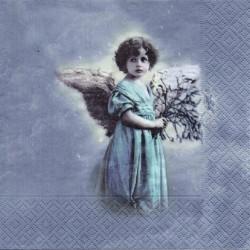 Anjelik v modrom