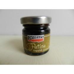 Patina -  tmavo hnedá 30ml