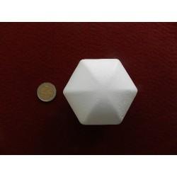 Polystyrénová guľa hranatá - 8 cm