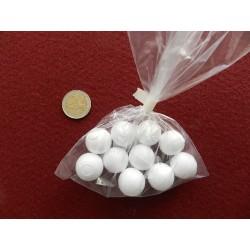 Polystyrénové guličky - 2cm - 10 ks