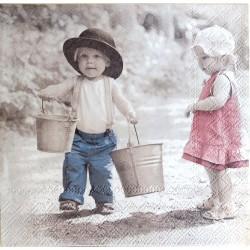Chlapček s vedierkom