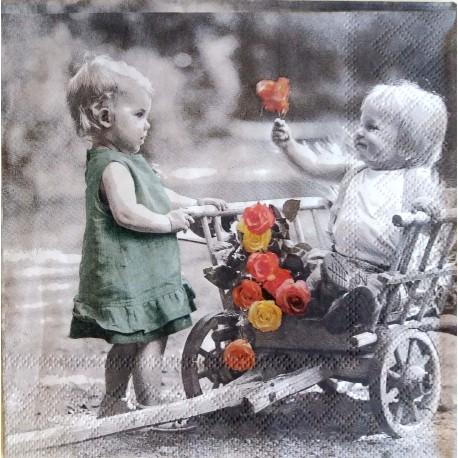 Deti s ružami