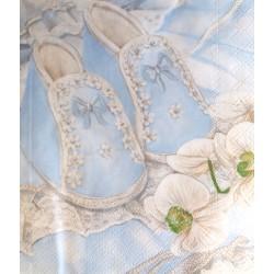 Modré papučky
