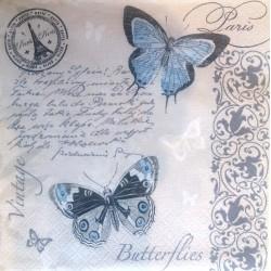 Motýle a Paríž