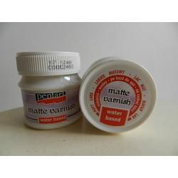 Lak na vodnej báze - matný - 50 ml