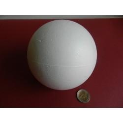 Polystyrenová guľa 12 cm