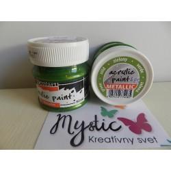 Acryl Metal - 50 ml - 485 zelená