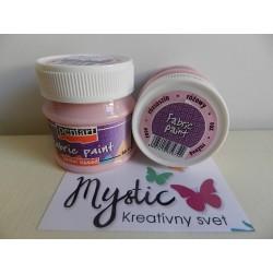 Textilná farba 50 ml - ružová