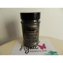 Dekor metal - 100 ml - antracit