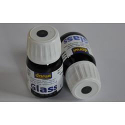 Glass 30 ml - 100 čierna