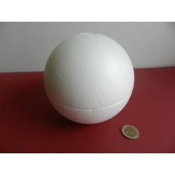 Polystyrenová guľa 14 cm otvaracia