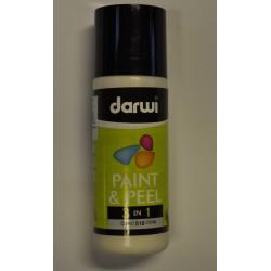 Paint & Peel 3v1 - 80 ml - 010 biela