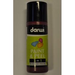 Paint & Peel 3v1 - 80 ml - 411 bordová