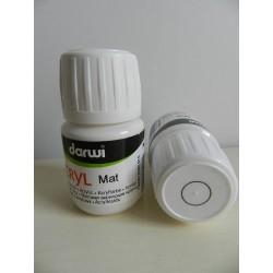 Acryl Mat - 30 ml - 010 biela
