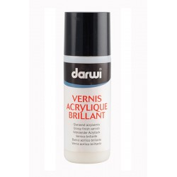 Vernis brillant - lesklý acryl lak 3D 80 ml
