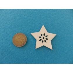 Vianočná hviezdička 5 cm