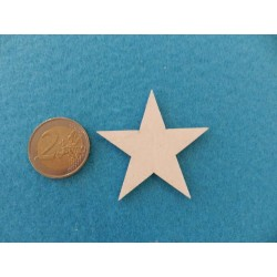 Drevená hviezdička 3cm