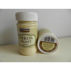 Dekor paint soft - 100 ml žltá