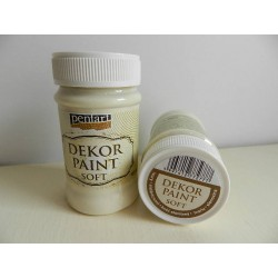 Dekor paint soft - 100 ml slonovinová