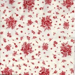 Drobné červené ružičky
