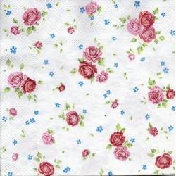Drobné ružové ružičky