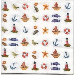 Drobné námornícke vzory