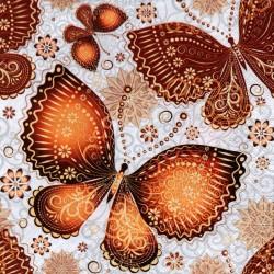 Hnedé motýle