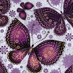 Fialové motýle