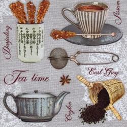 Čajové variácie na sivom