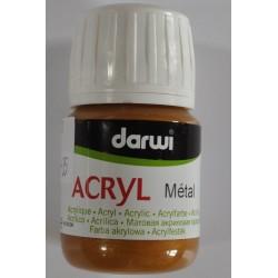 Acryl Metal - 30 ml - 053 antická zlatá